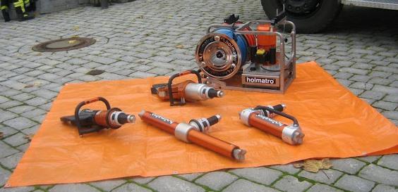 Holmatro Ausrüstung