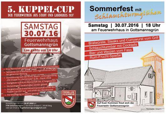Kuppelcup-2016 in Gottsmannsgrün