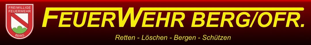 Freiwillige Feuerwehr Berg/Ofr